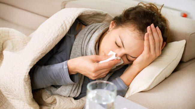 När det är dags att komma tillbaka till jobb eller skola brukar influensafallen öka rejält.