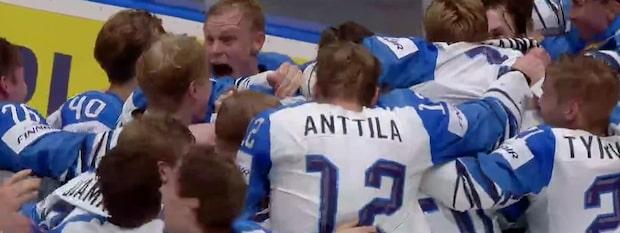 Finland är världsmästare - se höjdpunkter här