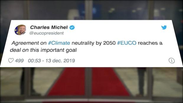 EU-länderna säger ja till ett klimatneutralt EU år 2050