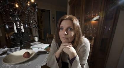Mia Ottosson, 41, gifte sig med den nu 63åriga healern då hans verksamhet var som störst. Foto: Mats Endermark