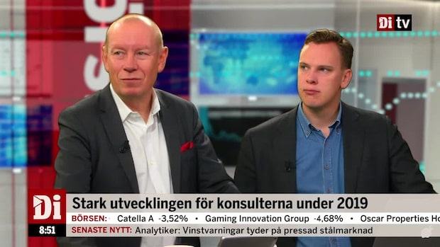 """Söderfjell: """"Konsulterna börjar bli för dyra"""""""