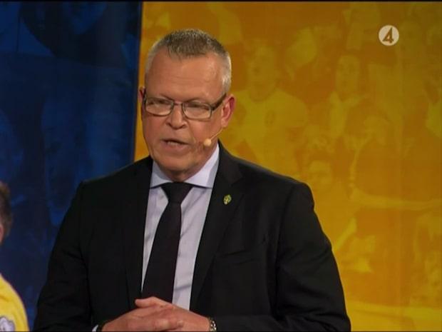 Janne Andersson presenterar VM-truppen