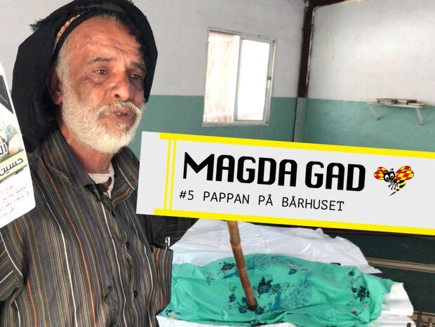 Magda Gad - Pappan på bårhuset