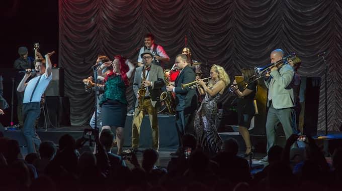 På onsdagen, svensk tid, klev Gunhild Carling in på Broadway inför sitt livs spelning. Foto: Per Jahnke