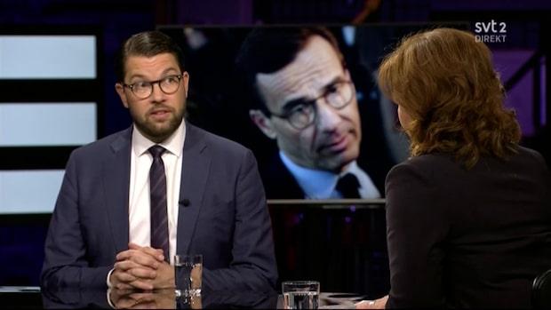 "Jimmie Åkesson om Kristersson: ""Då har han inte fattat något"""