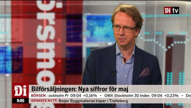 """Bergman: """"Väldigt stark personbilsmarknad"""""""