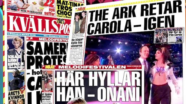 Snackisar och tabbar från Melodifestivalen