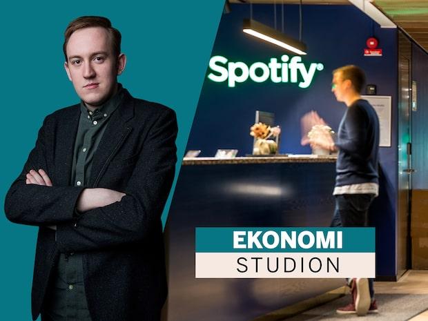 Spotify utklassar tillväxtprognos – men större förlust än väntat