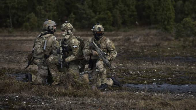 Militärövningen pågår till och med den 12 november Foto: Jimmy Croona/Försvarsmakten