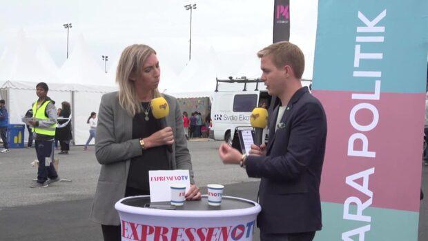 Bara politik från Järva: Se intervjun med Gustav Fridolin