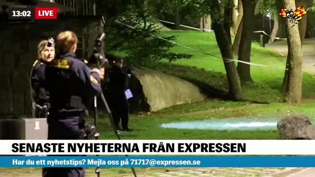 Misstänkt våldtäkt i Rålambshovsparken i centrala Stockholm