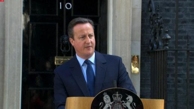 David Cameron avgår som premiärminister