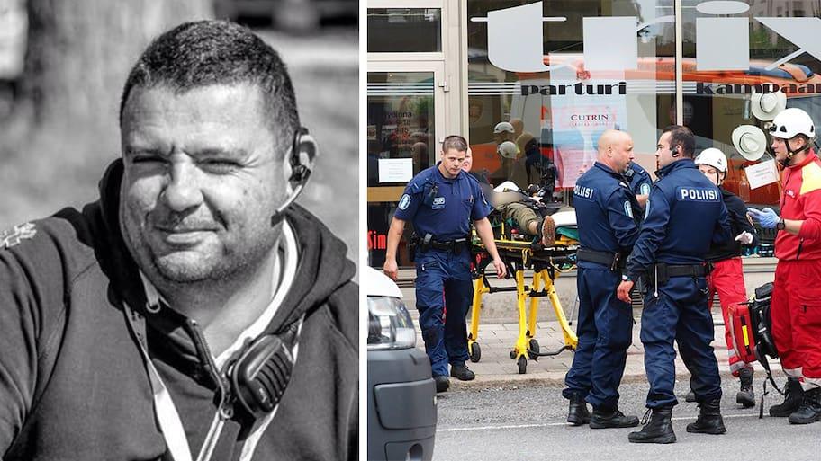 Hassan från Stockholm knivhöggs i Åbo – försökte rädda döende kvinna