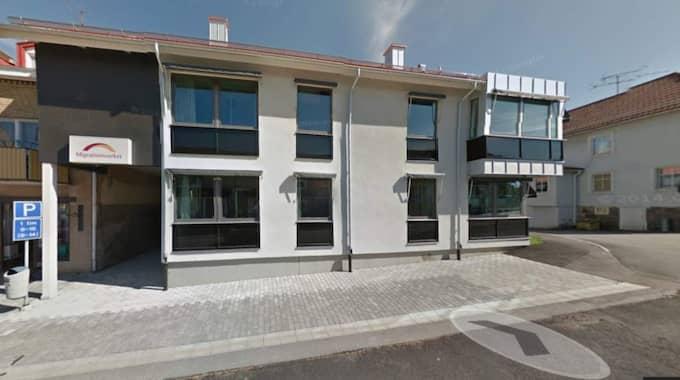 Asylboendet i Högsby. Foto: Google maps
