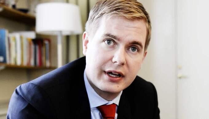 Gustav Fridolin (MP), utbildningsminister. Foto: Anna-Karin Nilsson