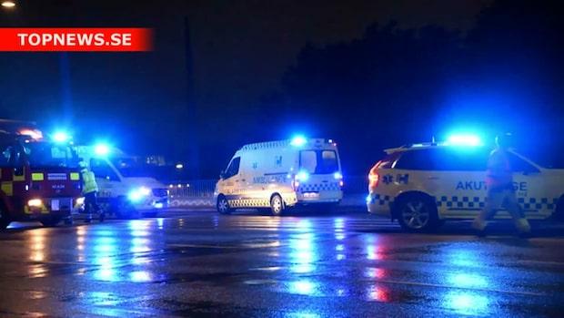 En person död efter olycka – sju bilar inblandade
