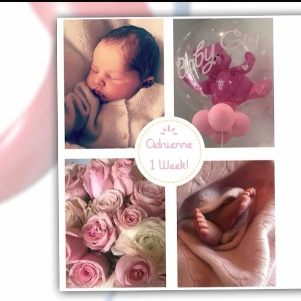 Nya bilderna på prinsessan Adrienne