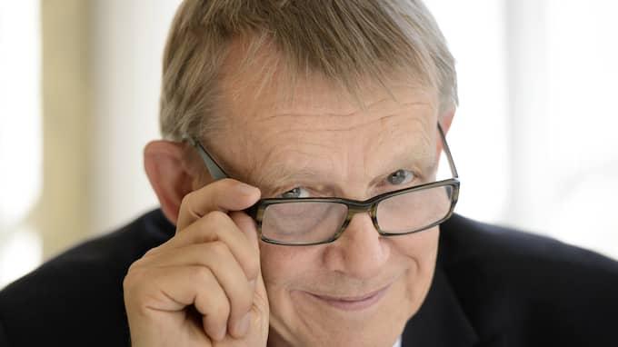 Hans Roslings självbiografi kommer i november. Foto: HENRIK MONTGOMERY/ TT / TT NYHETSBYRÅN