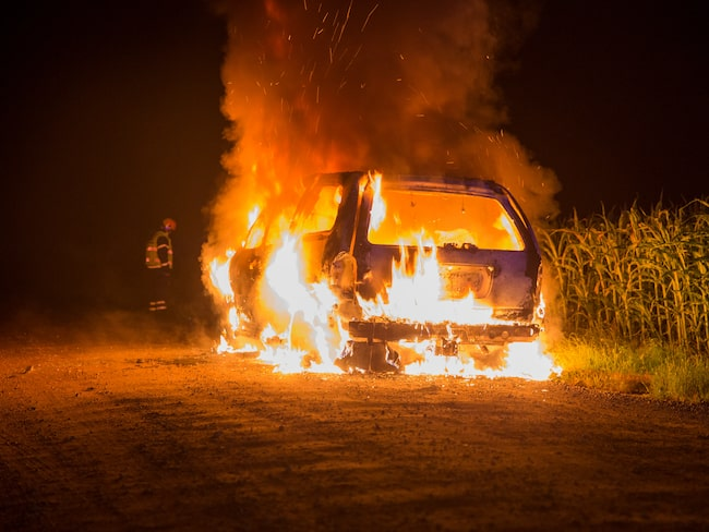 Ett stort fokus från försäkringsbolagen var under förra året på bilbränder.