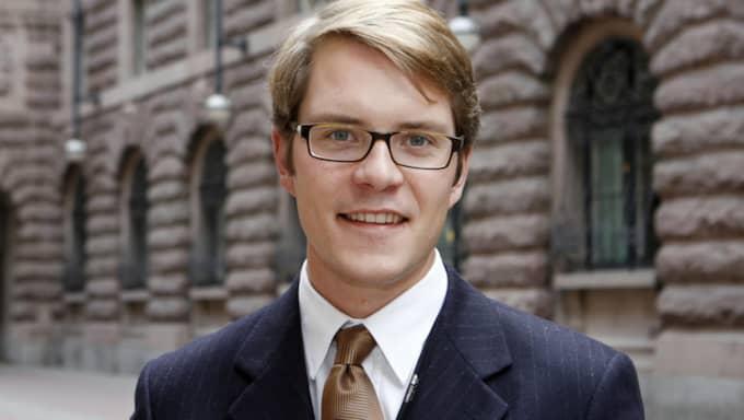 Enligt Lars Hjälmered, M:s energipolitiska talesperson, är den nuvarande politiska inriktningen ett svek mot industrin. Foto: Roger Vikström