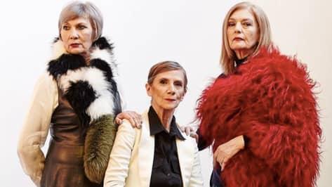 De flesta modeller hos agenturen Oldushka är över 60 år, den yngsta är 45. Foto: Privat