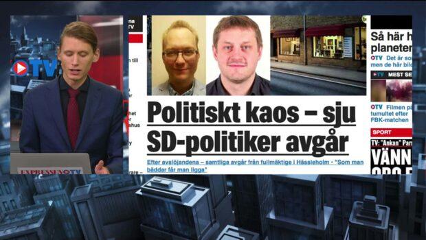 Politiskt kaos – sex SD-politiker avgår