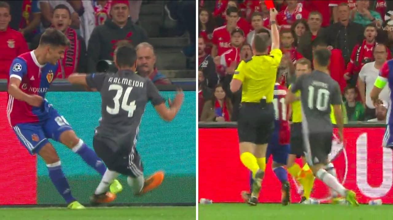 André Almeidas överfall i Champions League-matchen mot Basel 6d1ee509df188