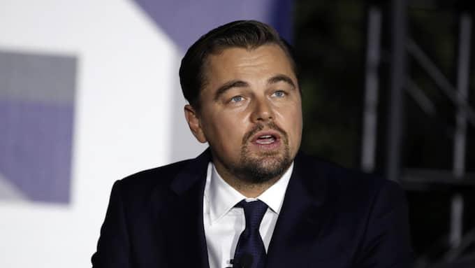 Leonardo DiCaprio har mottagit en Picasotavla och ett kollage av Jean-Michel Basquiat som kan ha finansierats av stulna pengar. Foto: CAROLYN KASTER / AP TT NYHETSBYRÅN