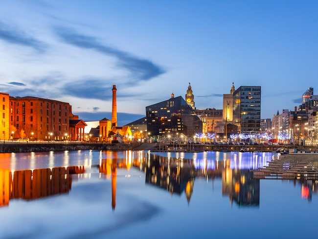 Liverpool får till jul tillökning i sin redan blommande barkultur.