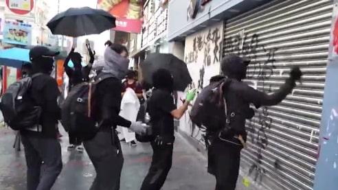 Lagen som utlöste våldet i Hongkong har dragits tillbaka
