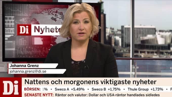 Johanna Grenz programleder Di Nyheter.