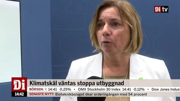 Isabella Lövin om att regeringen tar över ärendet om Preem