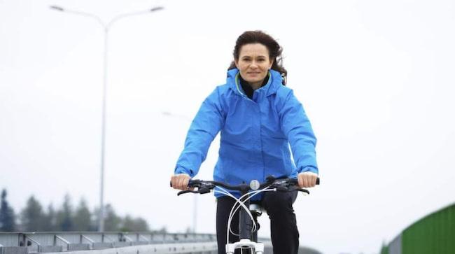 FÖRLÄNGER LIVET. Motion, som cykling och jogging, kan tillsammans med en bra kost förlänga livslängden med fem år.