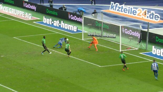 Highlights: Hertha Berlin–Hannover