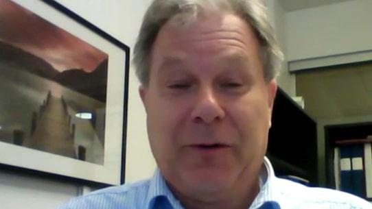 Meteorologen Johan Groth om stormen Knud