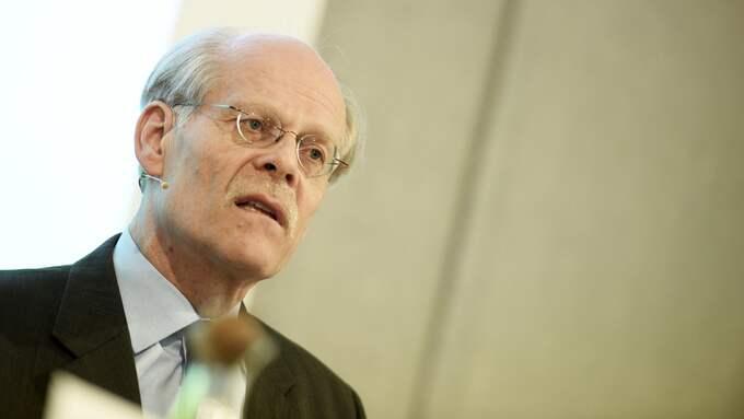 Stefan Ingves är chef vid Riksbanken – som nu trappar upp dramatiken kring svenska hushålls skuldsättning. Foto: PONTUS LUNDAHL/TT