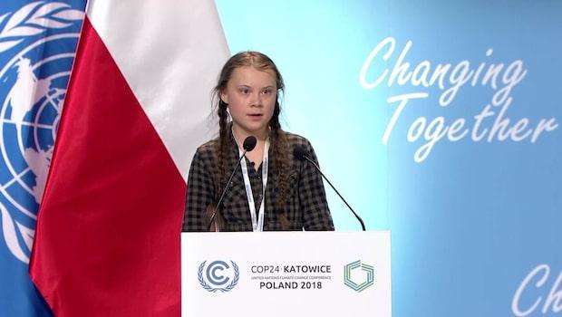 Se Greta Thunbergs tal från FN-konferensen