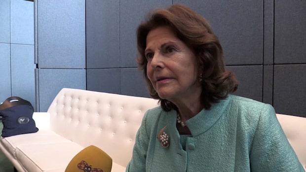"""Drottning Silvia: """"Vi behöver många Gretor"""""""