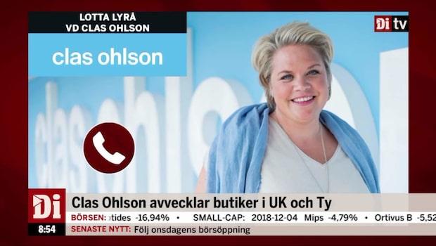 Clas Ohlson avvecklar butiker i UK och Tyskland