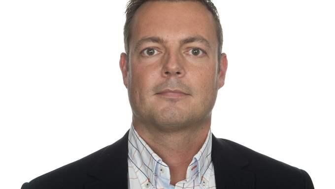 Jonas Bergman (M), ledamot i Halmstads fullmäktige. Foto: JÖRGEN ALSTRÖM