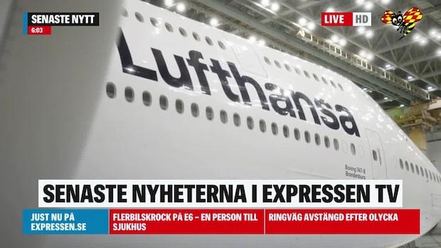 Lufthansa i strejk – 180 000 påverkas