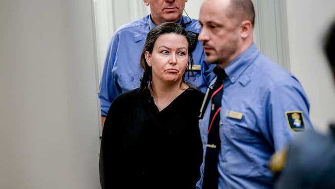 Johanna Möller under hovrättsförhandlingen. Foto: ALEX LJUNGDAHL