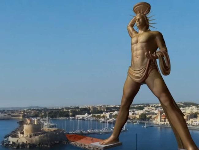 <span>Den nya statyn är tänkt att bli hela 150 meter hög. <br></span>