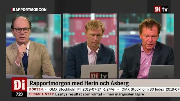 """Petersson efter Nordeas rapport: """"Kommer gå ner"""""""