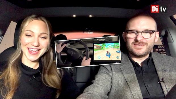Netflix och tv-spel – här är Teslas entertainment-system
