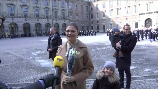 Kronprinsessan Victoria om sitt namnsdagsfirande