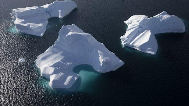 Norra halvklotets största istäcke smälter