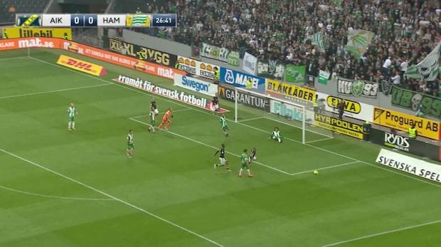 Höjdpunkter: AIK-Hammarby