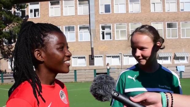 Gothia cup: Danmark och Ghana möttes – i dans