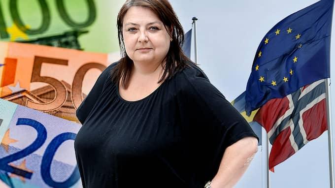 EU-kommissionen kräver som alltid mer pengar. Men Brexit ger en chans att tänka om och dra ner bidragsutdelningen drastiskt, skriver Malin Siwe.